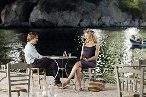电影《爱在午夜希腊时》(Before Midnight,又译《午夜之前》)剧照。(图/采昌提供)