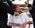 跟实际的酷刑惨烈与恶警邪恶的程度相比,演示酷刑照片不过是图片示意而已,帮助人了解酷刑实施的大概特点。(大纪元)