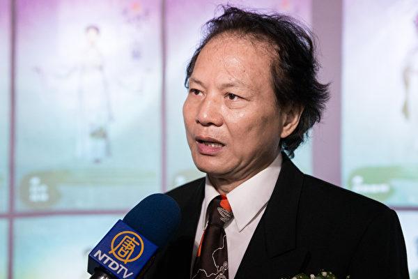 康太軍用電腦董事長陳清祥。(攝影:陳柏州/大紀元)