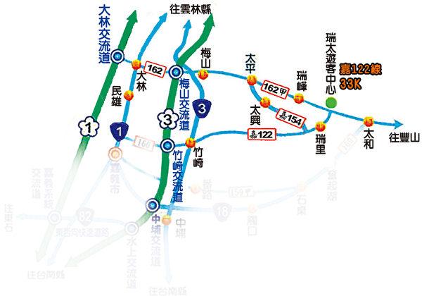162甲線道地圖(圖:民宿提供)