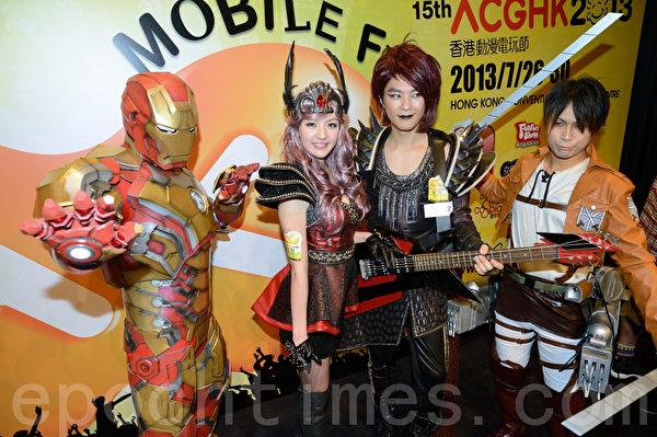 香港動漫電玩節最受歡迎的Cosplay,廣受許多動漫電玩迷喜愛。(攝影:宋祥龍/大紀元)