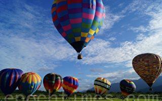 纽西兰热气球节 色彩缤纷的视觉飨宴