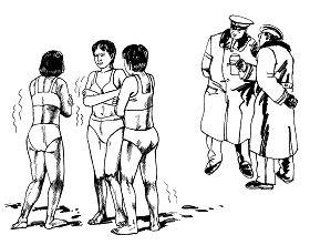中共酷刑:冷冻(图片来源:明慧网)