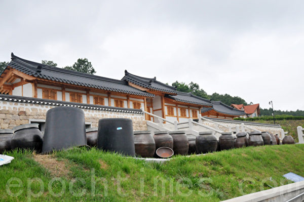 Lohas Park韩屋村 (摄影: 明国/大纪元)