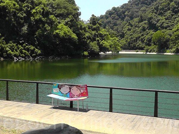 風光明媚的後慈湖,原是神秘軍事禁地,2013北橫旅遊節 也列入景點之一(攝影:吳美蓉/大紀元)