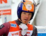 零六都灵冬奥会雪橇滑雪铜牌得主、拉脱维亚雪橇国家队成员马汀斯•鲁本尼斯。(图:明慧网)