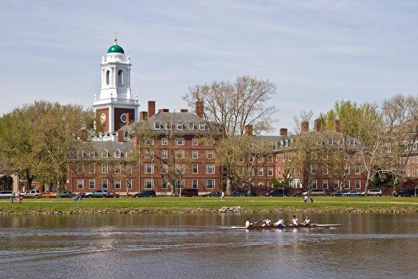 2013年全球前100大大學排名,美國哈佛大學居首。圖為哈佛大學一景。(fotolia.com)