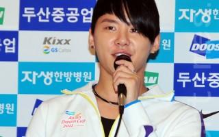 韩国JYJ成员金俊秀。(摄影:李裕贞/大纪元)