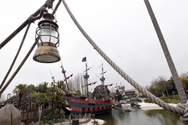 巴黎迪士尼乐园海盗湾 (THOMAS SAMSON/AFP)