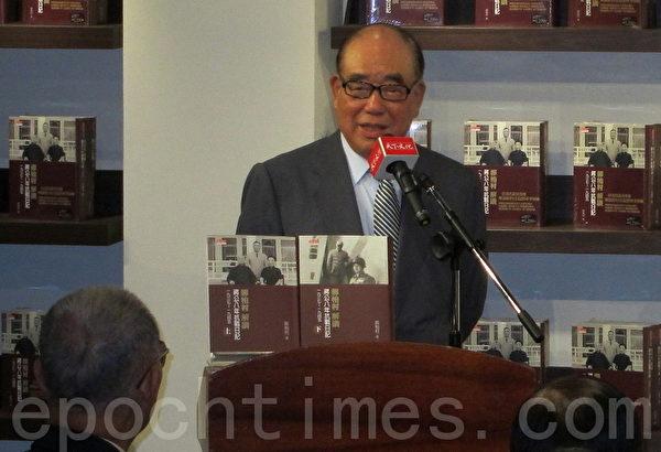 高齡95歲的行政院前院長郝柏村。(攝影:鍾元/大紀元)