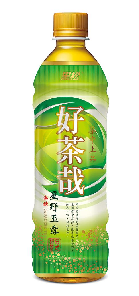 日式星野玉露绿茶(图:黑松公司提供)