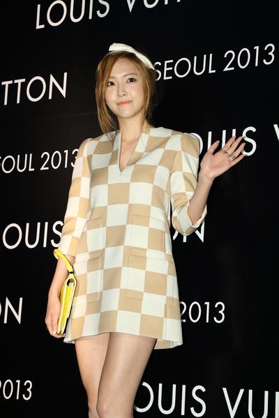 少女时代杰西卡(Jessica)(摄影:全宇/大纪元)