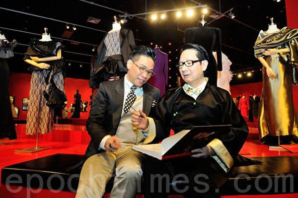 香港文化博物馆获刘培基慷慨捐赠其珍藏作品,7月17日起展出近70套他的作品。(摄影:宋祥龙/大纪元)