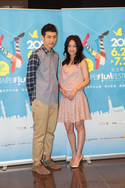 电影大使柯震东、谢欣颖将分别与今年大使组合颁奖。(图/财团法人台北市文化基金会提供)