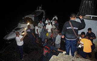 马来西亚船难 1死7失踪