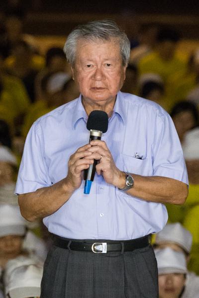 法輪功反迫害14週年,台灣台北720在自由廣場舉辦悼念被中共迫害致死的法輪功學員(陳柏州/大紀元)