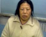 《小鬼头上的女人》主角、辽宁访民刘华发言时揭发了两宗法轮功学员遭残酷迫害的事件。(网络图片)