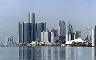 7月18日,美国底特律市宣布申请联邦破产保护。汤姆生城市债券市场数据显示,7月19日美国长期城市债券(municipal bond)价格全面下挫,其中AAA评级的30年期市政债券上升11个基点(即0.11%)。(STRINGER / AFP)