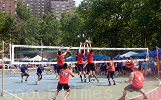 鹰威队和洪青A队分获华人排球赛男女冠军