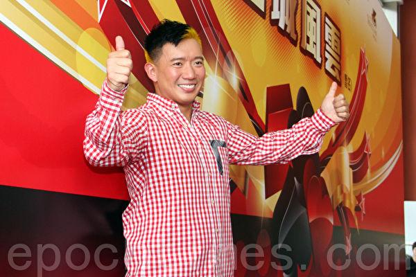 杜汶澤出席新聞發佈會。(攝影:蔡雯文/大紀元)