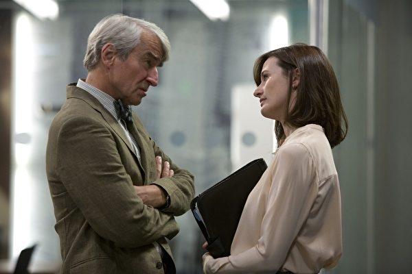 《新聞急先鋒》(The Newsroom)劇照。(圖/HBO提供)