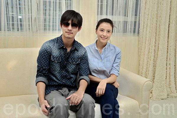 演员周渝民、高圆圆出席新片《单身男女II》开镜拜神仪式。(摄影:宋祥龙/大纪元)