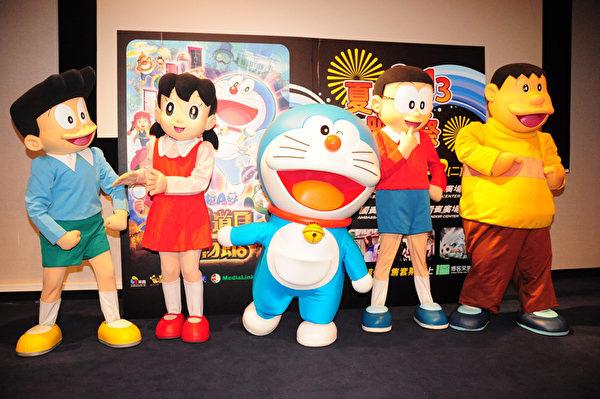 哆啦A梦最新电影《大雄的秘密道具博物馆》为今年夏日动漫映画祭打头阵。(图/采昌提供)
