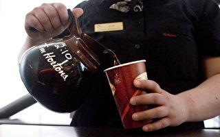 Tim Hortons消費者明年可重複使用咖啡杯
