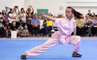 組圖:第四屆全世界華人武術女子拳術組