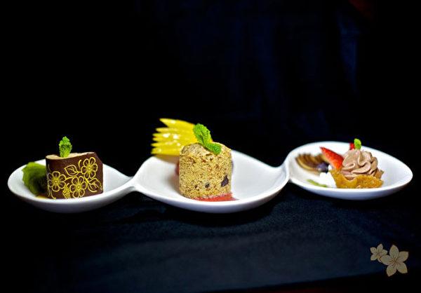 哥斯达黎加纳亚拉花园饭店,提供南美式的料理与美食。图为餐厅供应的精致创意前菜。(图片来源:Nayara Hotel And Gardens)