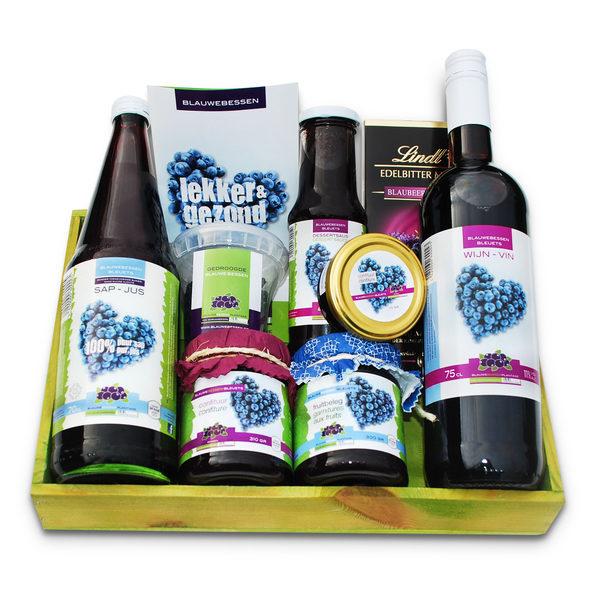 在蓝莓商店里,顾客全年都可以找到一系列的蓝莓做成的健康产品。(Schrijnwerkers蓝莓园提供)