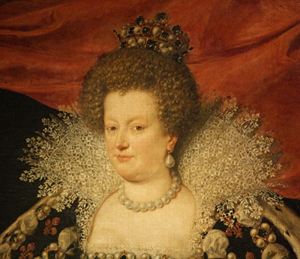 嫁予亨利四世的玛莉‧美迪奇,路易十四的祖母,路易十三的母亲。(章乐/大纪元)