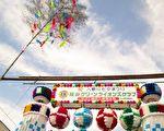 「入間川七夕祭」,盈滿天人間溝通的祈願和民俗巧藝色彩。(攝影:容乃加)