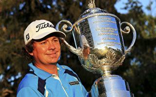 美国高球好手贾森-杜夫纳夺得了美国PGA锦标赛冠军。(By: David Cannon,Getty Images)
