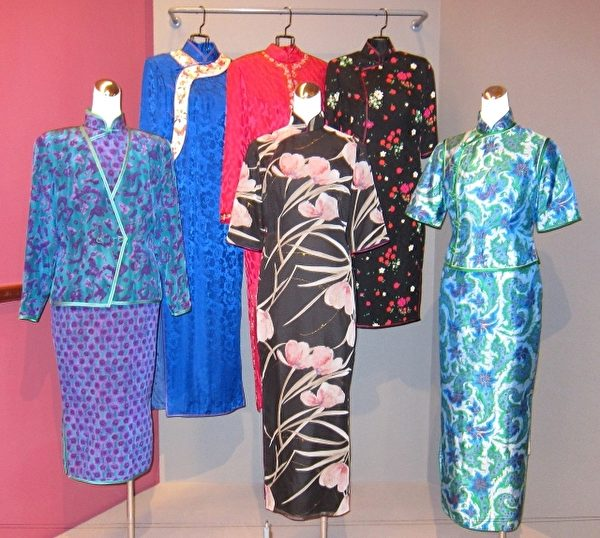优雅的旗袍。(摄影:钟元/大纪元)