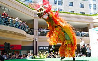 奥克兰中国城街会 展华裔魅力引八方访客