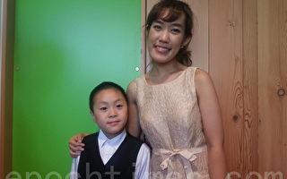 经过多方甄选,小提琴家Yana Lee及年仅8岁的Spencer Tsai成为本届音乐会的主角。(摄影:高明/大纪元)