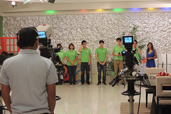 台青年大使尼國電視宣揚文化