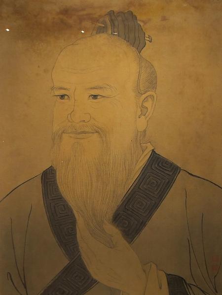 孫多慈-孔子(國立歷史博物館)(鍾元翻攝/大紀元)