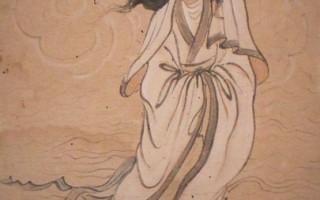 孫多慈-觀音乘蓮(國立歷史博物館)(鍾元翻攝/大紀元)