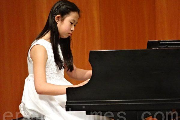 新唐人首屆兒童鋼琴賽 高子霖奪金