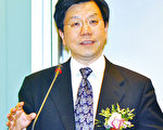 9月12日,谷歌中國區前總裁李開復在微博透露自己身患淋巴癌,並說,他相信神的存在。圖為李開復博士應邀在香港城市大學發表演講。(鄺天明∕大紀元)