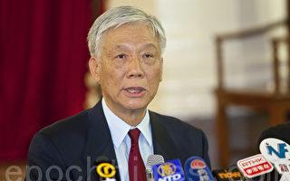 朱耀明:制度不公 港府應兌現民主普選承諾