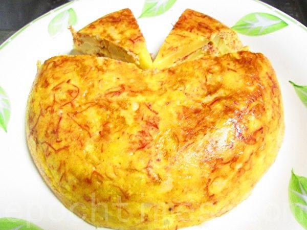 西班牙风烤蛋饼(摄影:家和/大纪元)