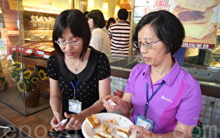 彰化县卫生局抽验中秋应景食品,14件不合格食品中,豆干占了10件。(郭益昌/大纪元)