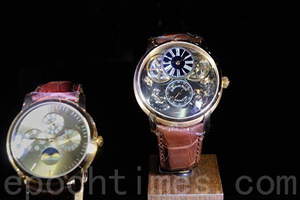 积家(Jaeger-LeCoultre)港币288万元腕表。(宋祥龙/大纪元)