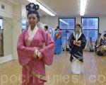2013年9月7日,曼哈顿中城Pearl排练厅繁忙而有秩地进行着汉服秀的彩排(摄影:杜国辉/大纪元)