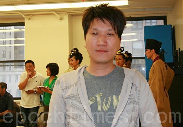 2013年9月7日,台湾选手李昆洺在曼哈顿中城Pearl排练厅(摄影:徐竹思/大纪元)