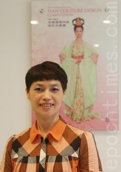 2013年9月7日,台湾选手张淑智在曼哈顿中城Pearl排练厅。(摄影:杜国辉/大纪元)