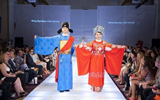全球汉服大赛 中华传统服饰裙袂飘逸